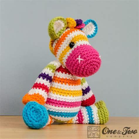 amigurumi zebra pattern free rainbow zebra amigurumi crochet pattern