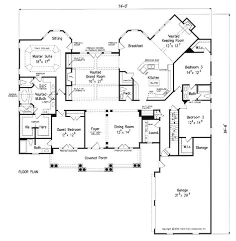 laurel river home plans and house plans by frank betz