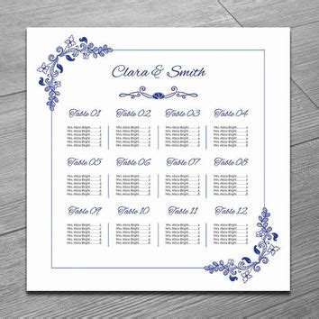 Shop Wedding Seating Chart On Wanelo Wedding Seating Chart Poster Template Word