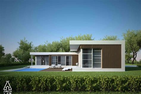 modern style home plans modern style house plan 3 beds 2 baths 1539 sq ft plan