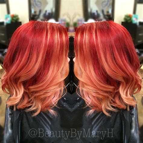 ombre hair on older women ombre hair color in older women red red ombre hair color