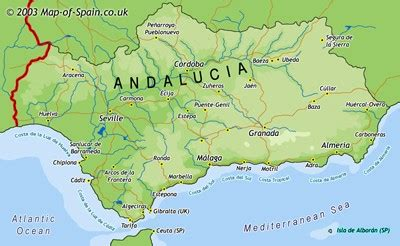 andalusia regional map 578 2067184458 map of andalucia map andalusia maps