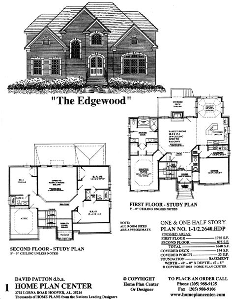 remarkable story and half house plans photos best idea home plan center 1 1 2 2640 edgewood