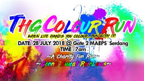 Ukm Mba Part Time by Thg Colour Run 2018