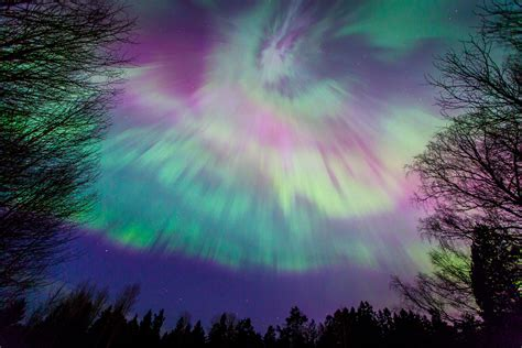 northern lights in sweden 2017 borealis northern lights display