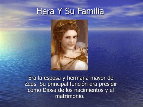Imagenes De La Familia De Zeus | hera y su familia