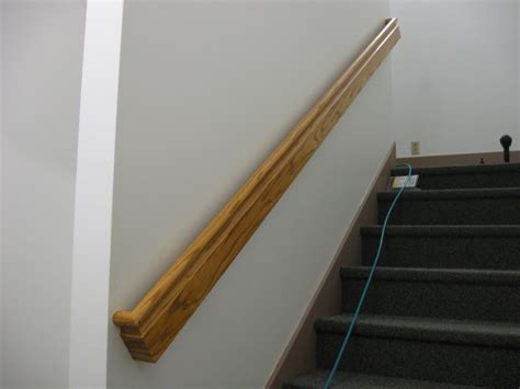 How To Attach Banister To Wall 2x6 Rail Install Finish Carpentry Contractor Talk