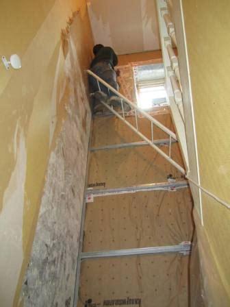 Isolation Escalier Sous Sol by Escalier Couloir R 233 Novation D Une Maison De Ville