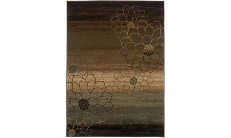 10 x 13 ombre rug monarch brown beige ombre area rug groupon