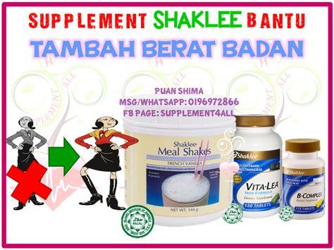 Tambah Berat Badan Supplement Shaklee Bantu Tambah Berat Badan Celoteh Ummi