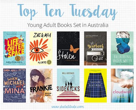 2010 best books for young adults young adult library top ten young adult books set in australia she latitude