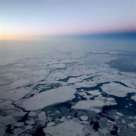 arctic sea arctic sea just set another record low in winter