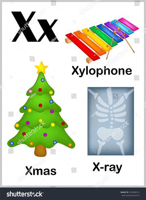 Business Terms Letter X Colorful Alphabet Letter X Set Stock Vector 232408513