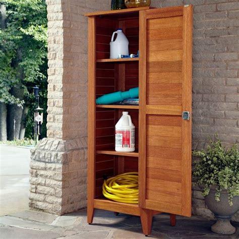 costruire armadietto in legno armadietti per esterno arredo giardino