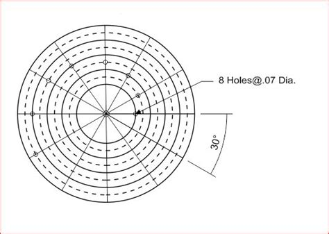 small circle center finder drawing aid  steps