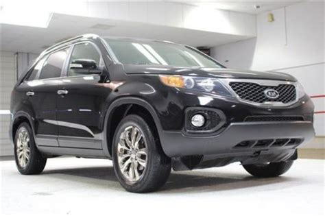 Kia 3rd Row Suv Sell Used Ex Suv 3 5l Navigation 3rd Row Seating Leather