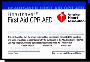 heartsaver aid cpr aed card template payment successful ace of hearts cpr