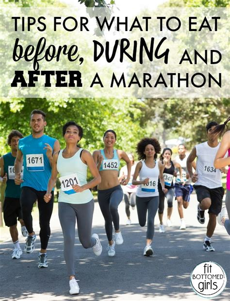 marathon nutrition tips what to eat before during and