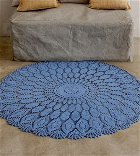 big crochet doily rug pattern crochet kingdom