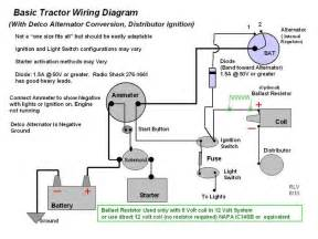tractor with an alternator wiring diagram get free image about wiring diagram