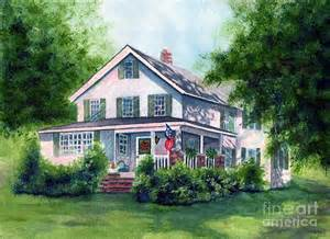 white country farmhouse painting by janine riley