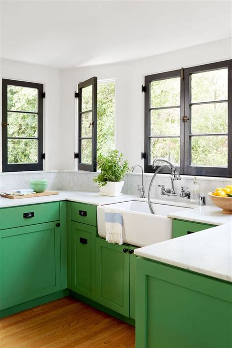 green cabinets in kitchen 25 best ideas about green kitchen on pinterest green