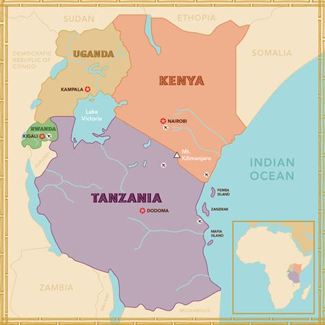 east africa map east africa region pictures to pin on pinsdaddy