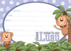 Luau Invitation Template Free by 8 Best Images Of Free Printable Hawaiian Invitations