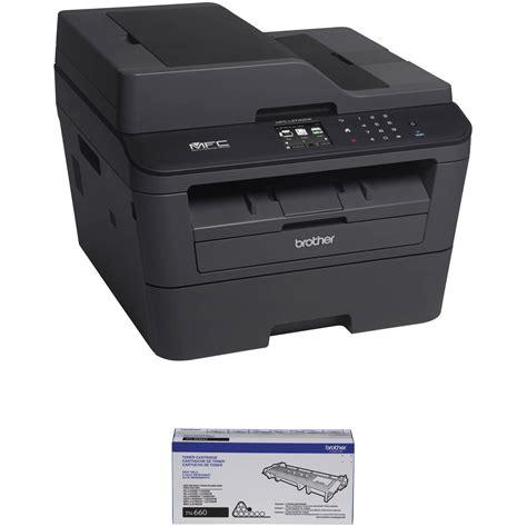 Printer Mfc L2740dw mfc l2740dw all in one monochrome laser printer b h