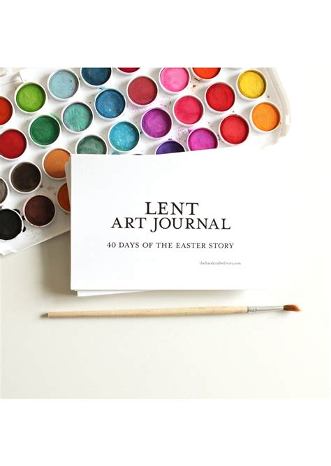 printable lent journal printable lent art journal jellytelly