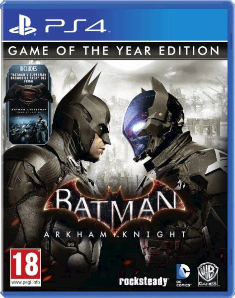 Kaset Ps4 Batman Arkham Of The Year Edition batman arkham of the year edition ps4 fr zavvi