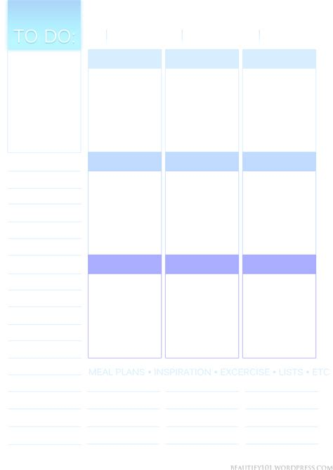 pages like layout it planner101 free printable page layout erin condren