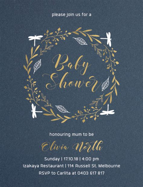 Baby Shower Invitations Melbourne by Baby Shower Invitations Melbourne Image Collections