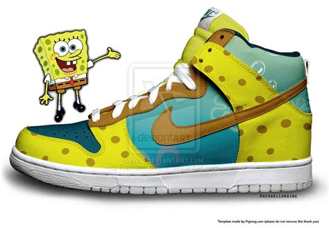 spongebob basketball shoes spongebob nike shoes