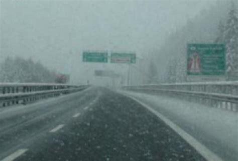 previsioni meteo candela maltempo liguria autostrada a6 bloccata dalla neve