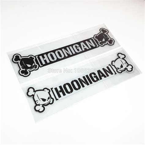hoonigan stickers on cars aliexpress com buy drift tengoku hoonigan car sticker
