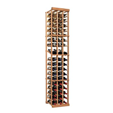 home wine storage wine enthusiast n finity 54 bottle natural floor wine rack
