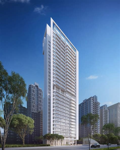 residential towers getting the backyard in the city part richard meier unveils plans for a residential tower in taipei