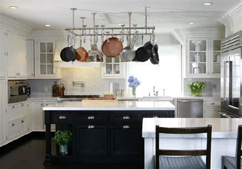 White Kitchen Black Island The Sophisticate October 2011