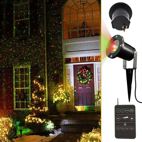 And Green Outdoor Lights Outdoor Laser Lights Red And Green Outdoor Waterproof Star