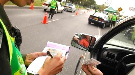 Infracciones De Transito Multas De Transito | las multas por infracciones de tr 225 nsito oscilan entre 2