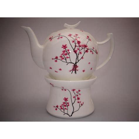 Cherry Blossom 1set Teekanne Cherry Blossom Kirschbl 220 Te Mit St 246 Vchen Wei 223