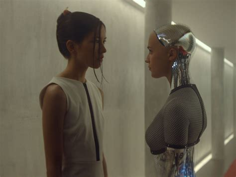 ava artificial intelligence alex garland s ex machina is true artificial