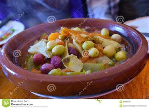 Tajine Dish tagine traditional vegetable dish stock photo image 61033943