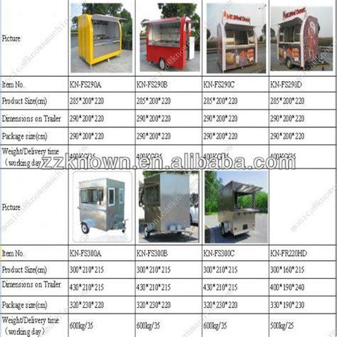 food truck design generator vending machine chinese food truck model kn 400r view