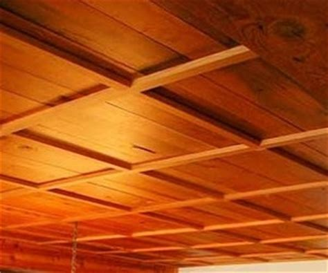 Wood Drop Ceiling Custom Wood Ceiling From Fifth Wall Designs
