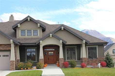 craftsman style home exteriors craftsman homes exterior colors joy studio design