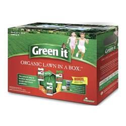 fish fertilizer home depot green it organic lawn in a box 2x4 4lb liquid corn gluten