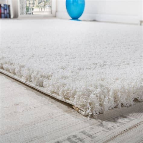 shaggy teppich shaggy teppich micro polyester creme hochflor teppiche