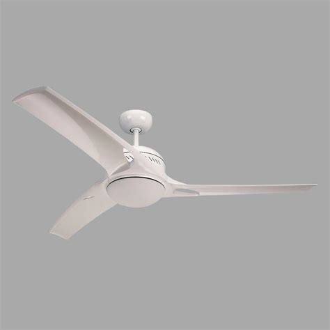 monte carlo mach one 52 in white ceiling fan with 3